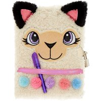 Claire's Lainey The Llama Plush Lock Diary - Diary Gifts
