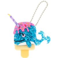 Claire's Pucker Pops Sweetimals Narwhal Cupcake Lip Gloss - Cotton Candy - Lipgloss Gifts