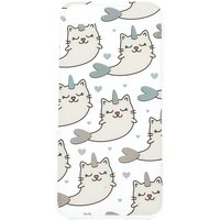Claire's Cat Narwhal Phone Case - Clear - Phone Case Gifts