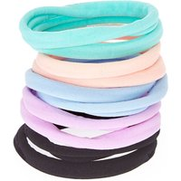 Claire's Pastel Rolled Hair Bobbles - 10 Pack - Ties Gifts