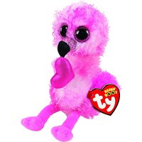 Claire's Ty Beanie Boo Small Dainty The Flamingo Soft Toy - Beanie Gifts