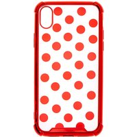 Claire's Red Polka Dot Phone Case - Fits Iphone Xr - Polka Dot Gifts