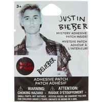 Claire's Justin Bieber Mystery Adhesive Patch - Justin Bieber Gifts
