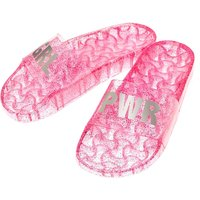 Claire's Jelly Grl Pwr Pool Slide Sandals - Pink - Pool Gifts