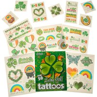 Claire's St Patrick's Day Lucky Girl Tattoos - Tattoos Gifts