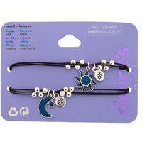 Claire's Mood Sun & Moon Friendship Bracelets - 2 Pack - Sun Gifts