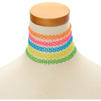 Claire's Neon Tattoo Chokers - Neon Gifts
