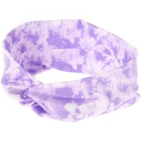 Claire's Wide Jersey Tie Dye Headwrap - Lilac Purple - Lilac Gifts