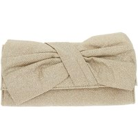Claire's Bow Clutch Purse - Gold - Purse Gifts