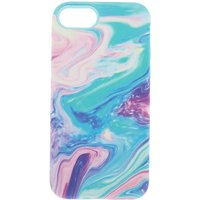 Claire's Pastel Marble Protective Phone Case - Fits Iphone 6/7/8 - Claires Gifts