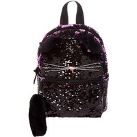 Claire's Reversible Sequin Cat Mini Backpack - Backpack Gifts