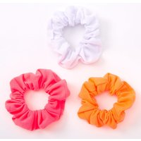 Claire's Small Hot Neon Hair Scrunchies - 3 Pack - Neon Gifts
