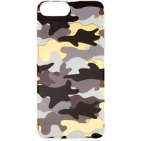 Claire's Metallic Camo Phone Case - Fits Iphone 6/7/8 Plus - Camo Gifts