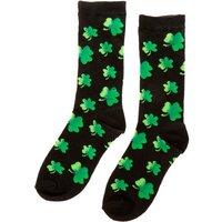 Claire's St. Patrick's Day Shamrock Crew Socks - St Patricks Day Gifts