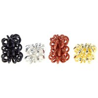 Claire's Metallic Coiled Baby Hair Bobbles - Ties Gifts