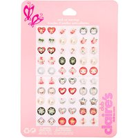Claire's Club Holiday Stick On Earrings - 30 Pack - Holiday Gifts