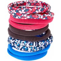Claire's Pink And Blue Floral Rolled Hair Bobbles - Ties Gifts
