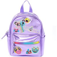 Claire's Emojical Metallic Mini Backpack - Lilac - Lilac Gifts