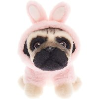 Claire's Doug The Pug™ Small Rabbit Soft Toy - Cream - Soft Gifts