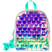 Claire's Jojo Siwa™ Mini Ombre Holographic Backpack - Silver - Backpack Gifts