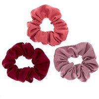 Claire's Very Berry Hair Scrunchies - 3 Pack - Hair Gifts