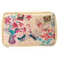 Claire's Small Hawaiian Postcard Cosmetics Bag - Hawaiian Gifts