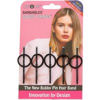 Claire's Localoc Bobby Bands - Black - Bands Gifts