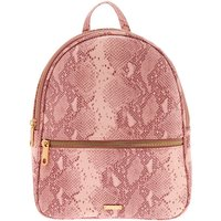Claire's Snake Skin Midi Backpack - Pink - Snake Gifts