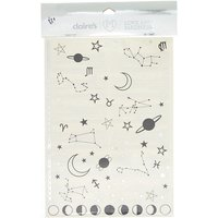 Claire's Constellation Temporary Tattoos - Black - Tattoos Gifts