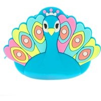 Claire's Phoebe The Peacock Jelly Coin Purse - Peacock Gifts