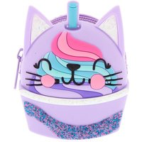 Claire's Sweetimals Cattuccino Jelly Coin Purse - Lilac - Purse Gifts