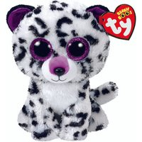 Claire's Ty Beanie Boo Medium Violet The Leopard Soft Toy - Leopard Gifts