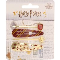 Claire's Harry Potter™ Hair Clip – 4 Pack, Styles May Vary - Harry Potter Gifts