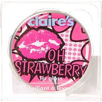 Claire's Strawberry Flavoured Lip Balm Tin - Strawberry Gifts