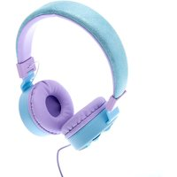 Claire's Snowflake Bling Headphones - Blue - Music Gifts