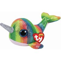 Claire's Ty Beanie Boo Small Nori The Narwhal Soft Toy - Toys Gifts