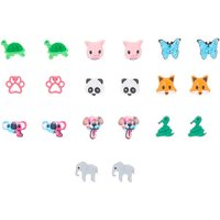 Claire's Cute Animal Stud Earrings - 10 Pack - Animal Gifts