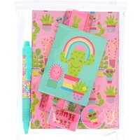 Claire's Chloe The Cactus Stationary Set - Stationary Gifts