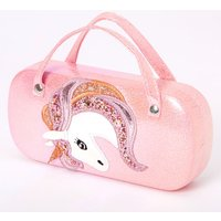 Claire's Club Holographic Unicorn Sunglasses Case - Pink - Sunglasses Gifts