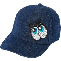 Claire's Denim Baseball Cap With Sequin Eyes - Baseball Gifts