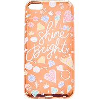 Claire's Rose Gold Shine Bright Ipod Case - Fits Ipod Touch - Ipod Gifts