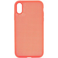 Claire's Neon Coral Perforated Phone Case - Fits Iphone Xr - Coral Gifts