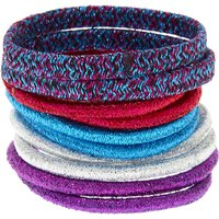 Claire's Glitter Anodized Hair Bobbles 10 Pack - Hair Gifts