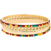 Claire's Gold Desert Bangle Bracelets - 5 Pack - Claires Gifts