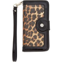 Claire's Leopard Print Folio Phone Case - Fits Iphone 6/7/8 - Leopard Print Gifts