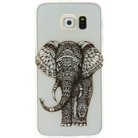 Claire's Clear Doodle Elephant Phone Case - Fits Samsung Galaxy S7 - Phone Gifts