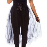 Claire's Black Long Train Halloween Tutu - Halloween Gifts