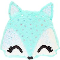 Claire's Trixie The Fox Soft Pillow - Mint - Mint Gifts