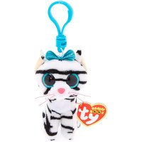 Claire's Ty Beanie Boo Quinn The Cat Keyring Clip - Keyring Gifts