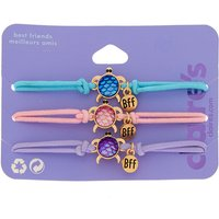 Claire's Pastel Turtle Stretch Friendship Bracelets - 3 Pack - Turtle Gifts
